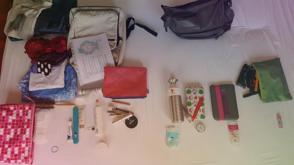 De spullen die ik uiteindelijk heb gebruikt...